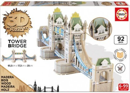 Monument Tower Brigde Puzzle 3D 16999