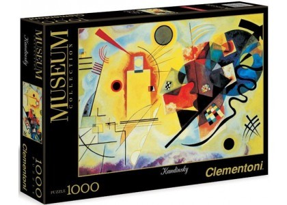 MUSEUM Kandisky - Giallo Rosso e Blu 1000 elementów Puzzle Clementoni 39195
