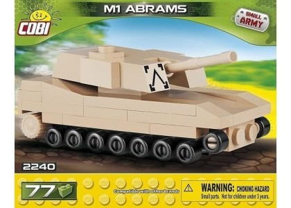 Czołg Abrams Small Army 2240