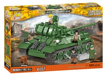 T-34/85 Rudy 102 Limited Edition Small Army 2524