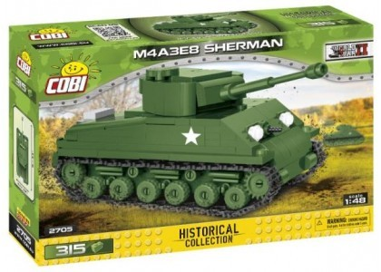 Czołg M4A3E8 Sherman  Small Army 2705