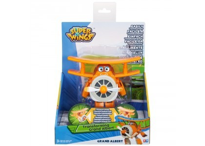 Figurka Transformująca - Grand Albert Super Wings AL-710260
