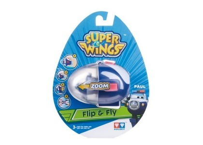 Figurka wystrzel i leć - Paul Super Wings AL-710665