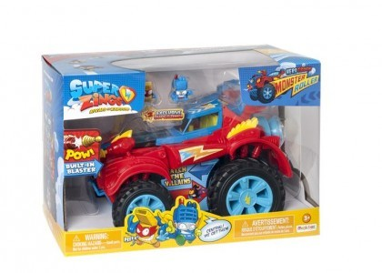Hero Truck Monster Roller Super Zings PSZSD112IN00
