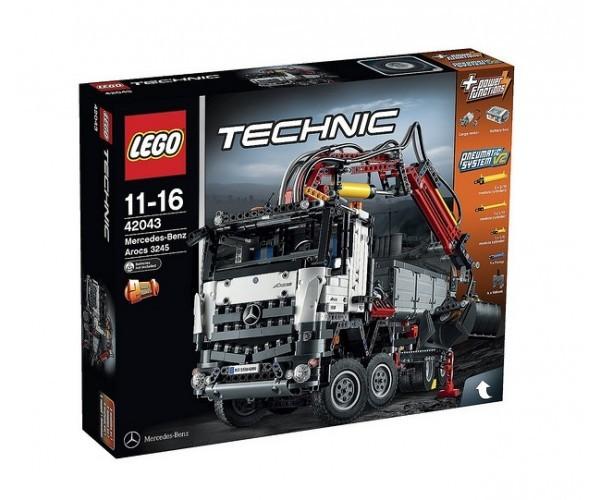 lego technic 42043 mercedes benz arocs 3245 klocki lego d. Black Bedroom Furniture Sets. Home Design Ideas