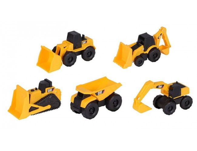 Mini Machines - 5-Pack CAT 34601