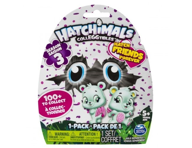 CollEGGtibles Jajko Saszetka seria 3  Hatchimals 6041316