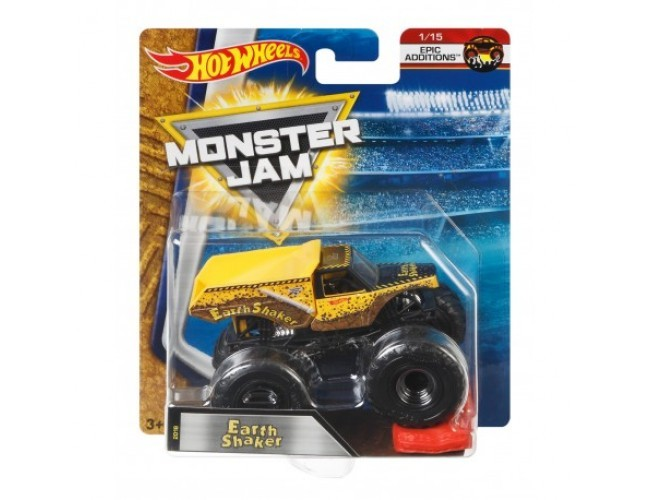 Monster Jam Superterenówka - Earth Shaker Hot Wheels 21572 / DWL38