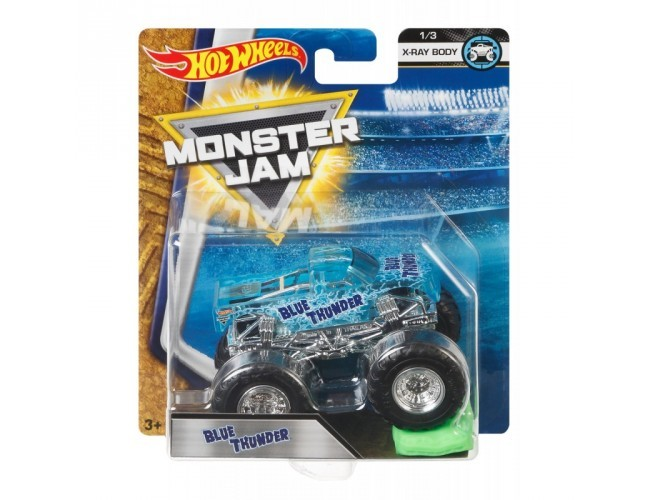 Monster Jam Superterenówka - Blue Thunder Hot Wheels 21572 / FLW85