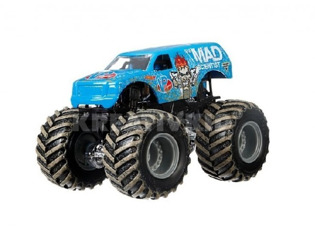 Monster Jam Superterenówka - The Mad Scientist Hot Wheels 21572 / FLW90