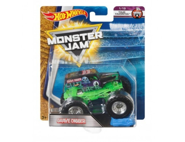 Monster Jam Superterenówka - Grave Digger Hot Wheels 21572 / FLX23