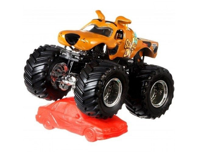 Monster Jam Superterenówka - Scooby-Doo Hot Wheels 21572 / FLX24