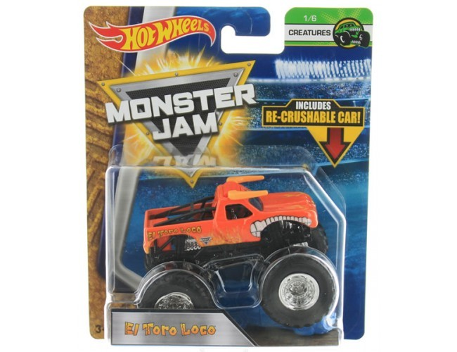 Monster Jam Superterenówka - El Toro Loco Hot Wheels 21572 / FLX26