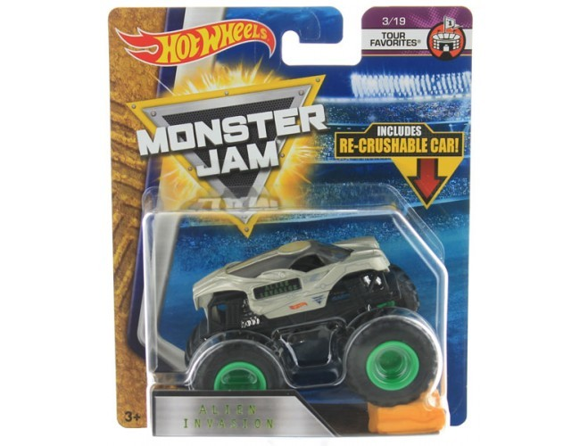 Monster Jam Superterenówka  - Alien Invasion Hot Wheels 21572 / FLX27