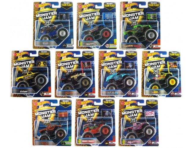 Monster Jam Superterenówka Hot Wheels 21572