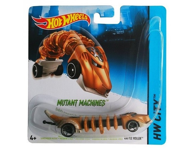 Samochodzik Mutant - Rattle Roller Hot Wheels BBY78 / CGM82