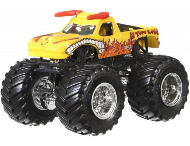 Monster Jam Superterenówka 2 - El Toro Loco Hot Wheels CBY61 / FMB58