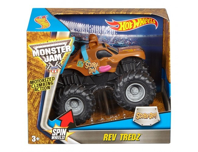 Monster Jam Rev Tredz® - Scooby-Doo Hot Wheels CHV22 / DRG18