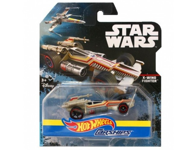 Autostatki kosmiczne - X-Wing Fighter Hot Wheels DPV24 / DPV26
