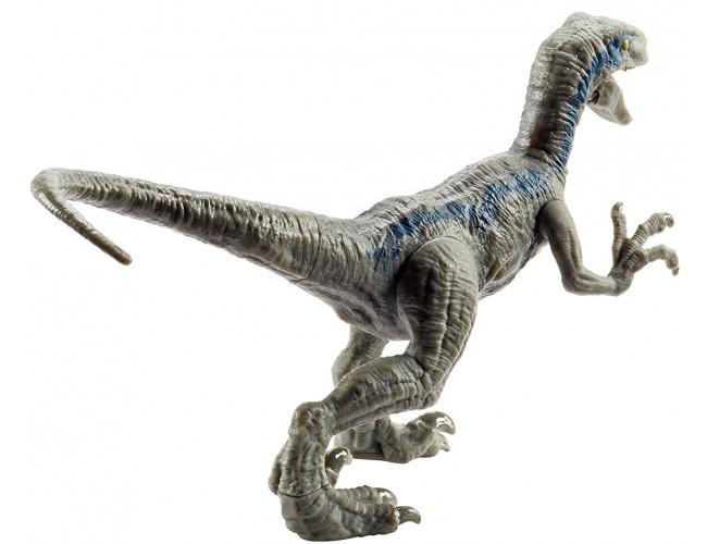 Jurassic World Atakujące Dinozaury Velociraptor Blue Mattel