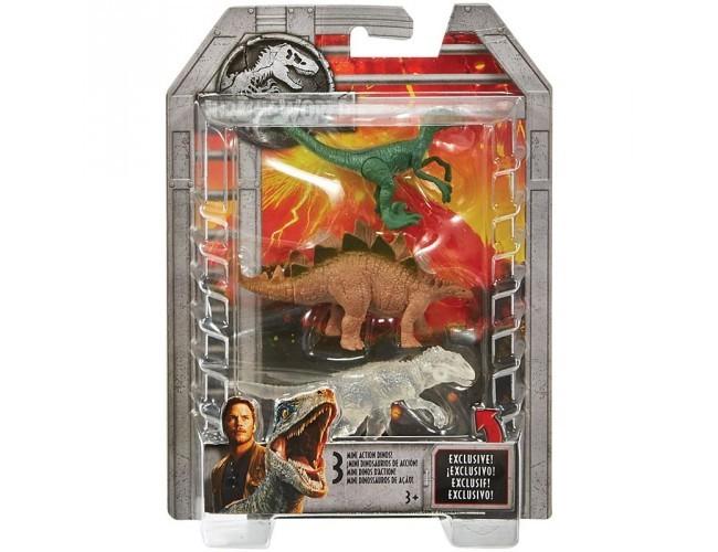 Jurassic World Mini Dinozaury 3 Pak 2 Mattel Sklep Z Zabawkami łódź