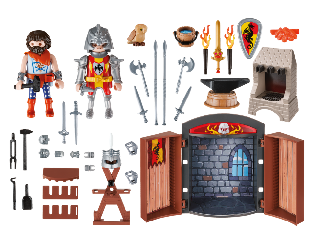 "Play Box  ""Kuźnia rycerska"" Knights 5637"