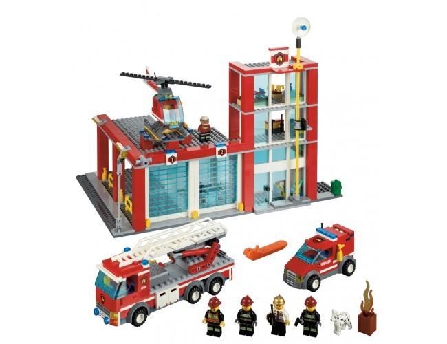 Lego City Remiza Strażacka Lego Sklep Z Zabawkami łódź