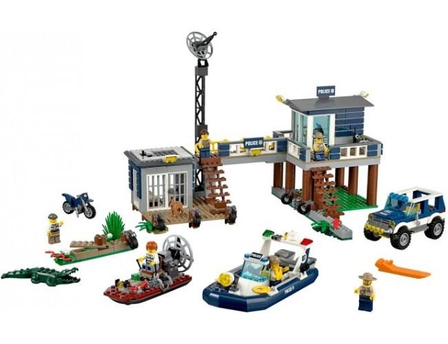 Lego City Posterunek Wodnej Policji Lego Sklep Z Zabawkami łódź