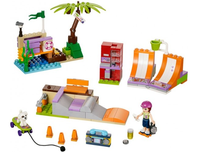 Lego Friends Skatepark W Heartlake Lego Sklep Z Zabawkami łódź
