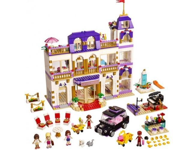 Lego Friends Grand Hotel W Heartlake Lego Sklep Z Zabawkami łódź