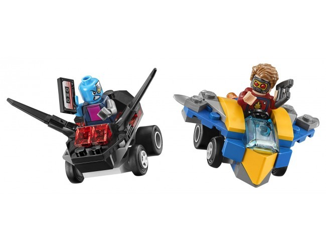 Star-Lord vs. Nebula LEGO Marvel Super Heroes 76090
