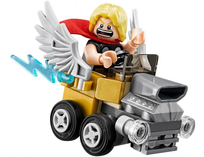 Thor vs. Loki LEGO Marvel Super Heroes 76091