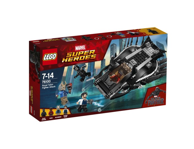 Atak myśliwca Royal Talon Fighter LEGO Marvel Super Heroes 76100