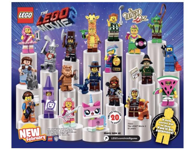 Lego Movie 2 Minifigurki Lego Przygoda 2 Lego Sklep Z Zabawkami łódź