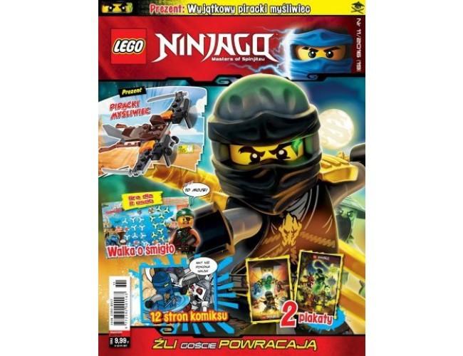 Lego Ninjago Magazyn Lego Ninjago Media Service Zawada Sklep Z