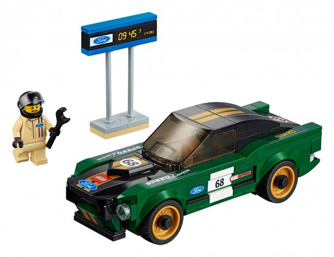 Ford Mustang Fastback z 1968 r. LEGO Speed Champions 75884
