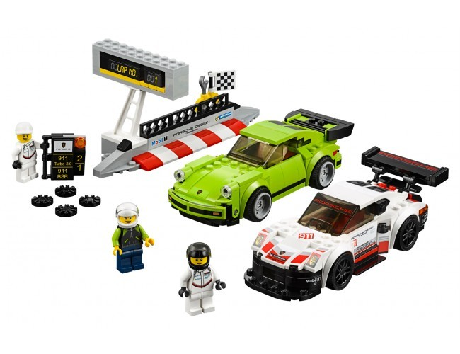 Porsche 911 RSR i 911 Turbo 3.0 LEGO Speed Champions 75888