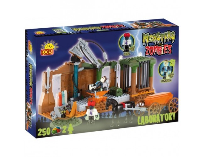 Laboratorium Monsters vs. Zombies 28252