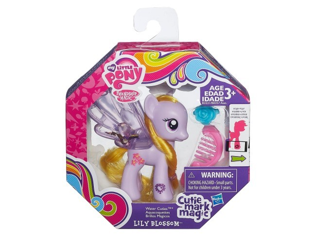 Brokatow kucyk - Lily Blossom My Little Pony B0357 / B3221