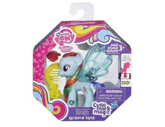 Brokatow kucyk - Rainbow Dash My Little Pony B0357 / B3222