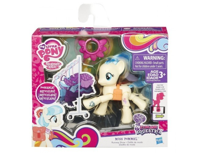 Kucyk do pozowania - Miss Pommel My Little Pony B3598 / B5679