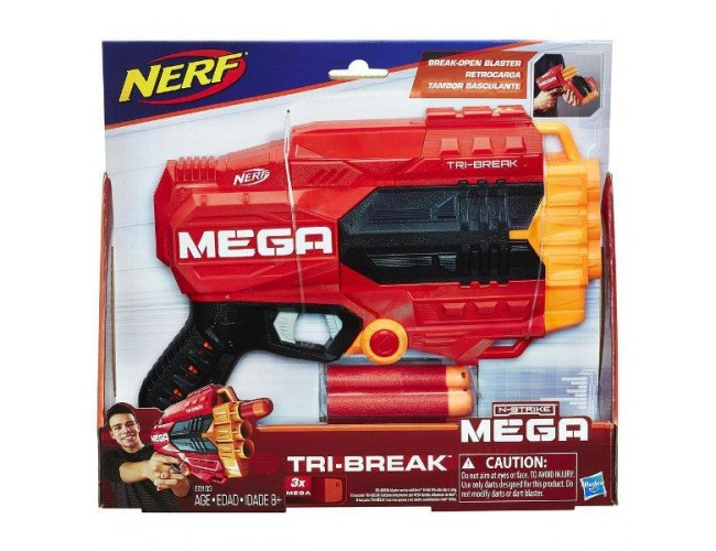 N-Strike Mega Tri-Break Nerf E0103