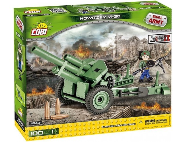 Haubica sowiecka - Howitzer M-30  Small Army 2342