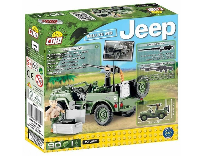 Jeep Willys MB  Small Army 24092