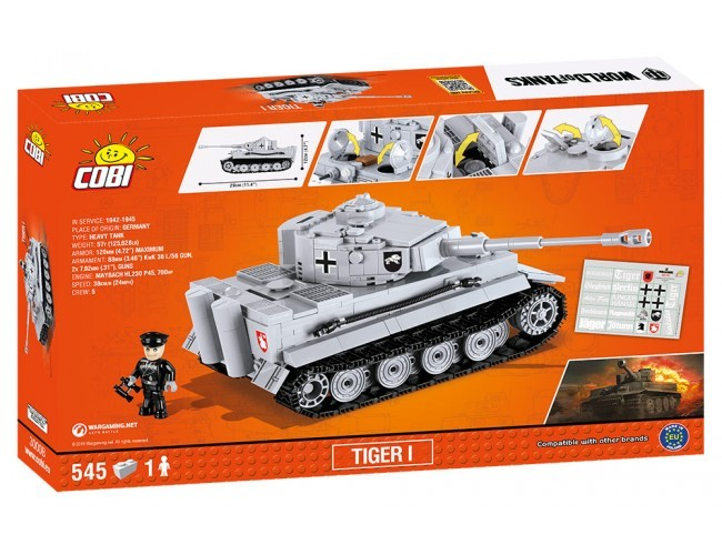 Tiger I Small Army 3000