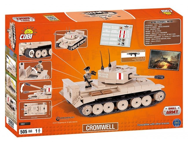 Cromwell Small Army 3002