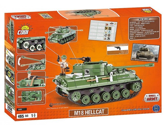 Hellcat M18  Small Army 3006