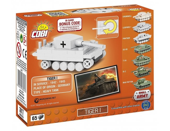 Tiger I Nano Small Army 3017