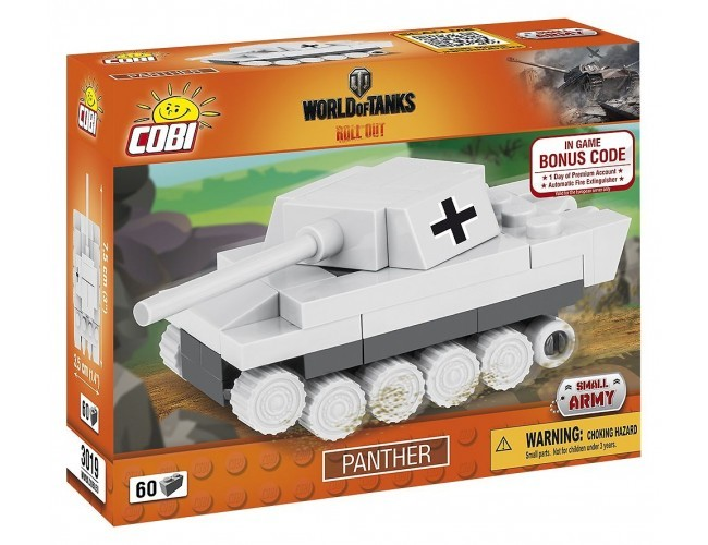 Czołg Panther Nano Small Army 3019