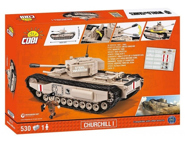 Czołg - Churchill I Small Army 3031